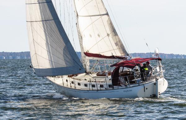 Shearwater-CUTTER/ Dudley Dix- Yanmar replaced; $60k upgrades BAGHEERA