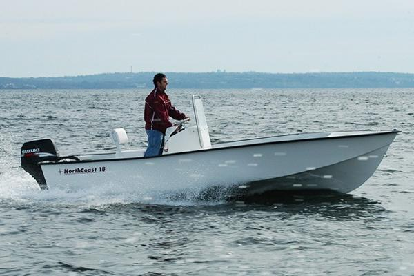 North Coast 18 Skiff