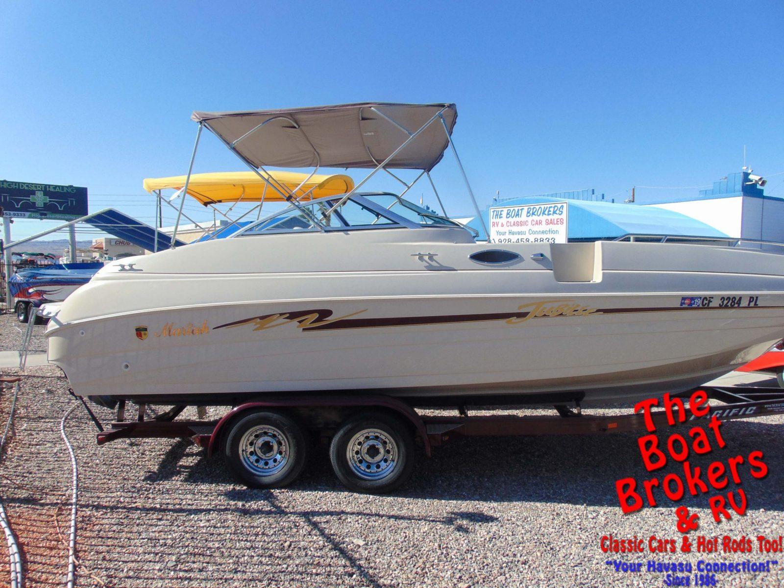 Mariah Jubilee deck boat