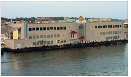 Floating Restaurant / Deck Barge Freshwater Condition  - 43000 sq.ft. on 3 Floors