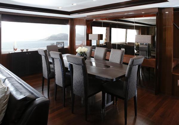 Princess M Class 32M Dining Area