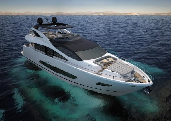 Sunseeker 86 Yacht Manufacturer Provided Image: Sunseeker 86 Yacht