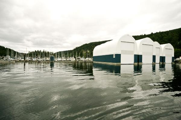 Yacht Enclosure boat house