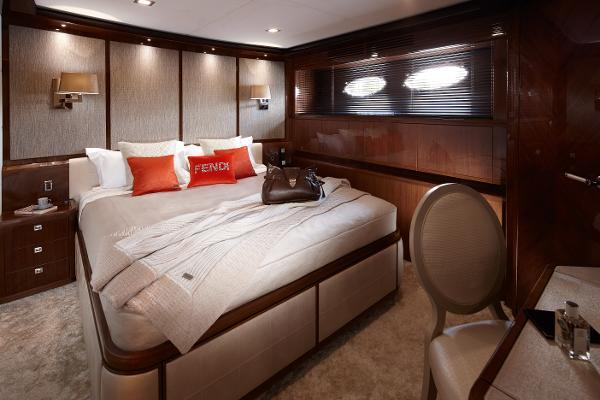 Princess Flybridge 98 Motor Yacht Port Cabin
