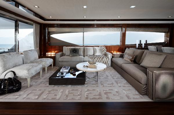Princess Flybridge 98 Motor Yacht Saloon