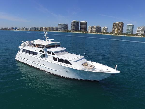 Broward Raised Pilothouse MY 94' Broward Motor Yacht GOLDEN GIRL