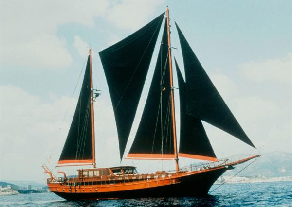 Classic Ketch designed by Anouska Hempel