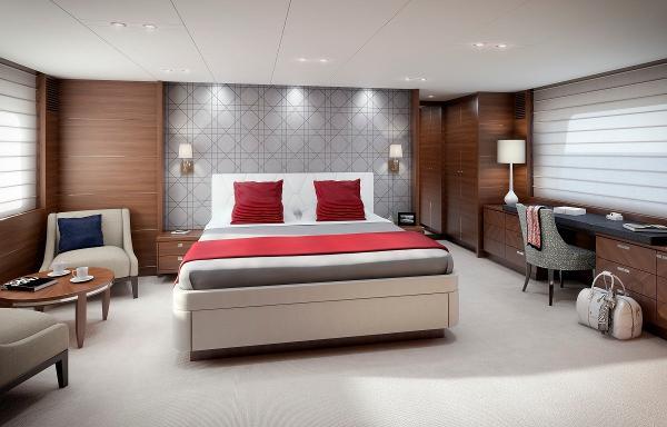 Princess Flybridge 88 Motor Yacht Master Stateroom