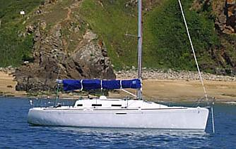 Beneteau First 36.7 Manufacturer Provided Image: Stbd View
