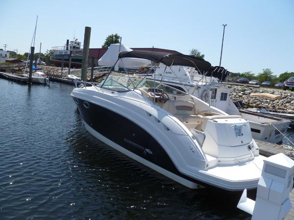 Chaparral 250 Signature Port Stern at the Dock