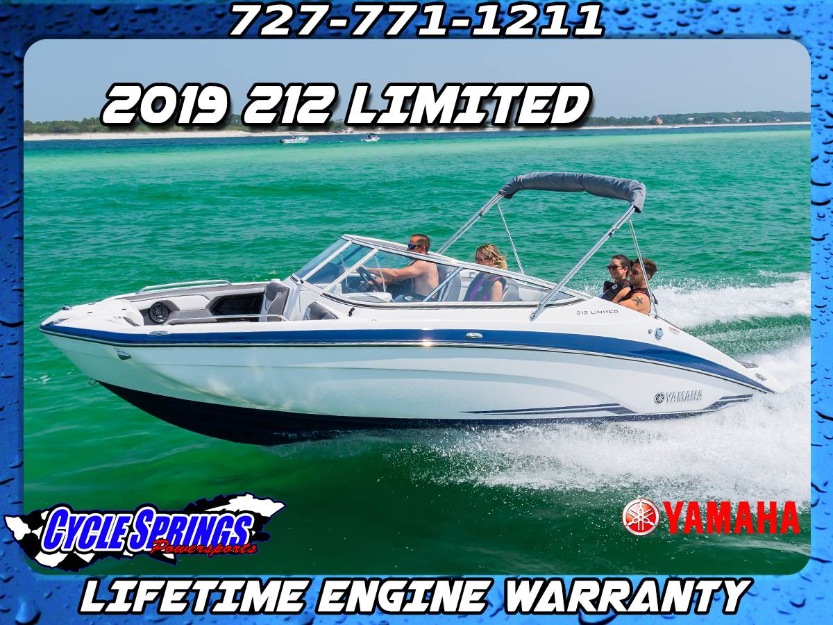 Yamaha Boats 212 Limited