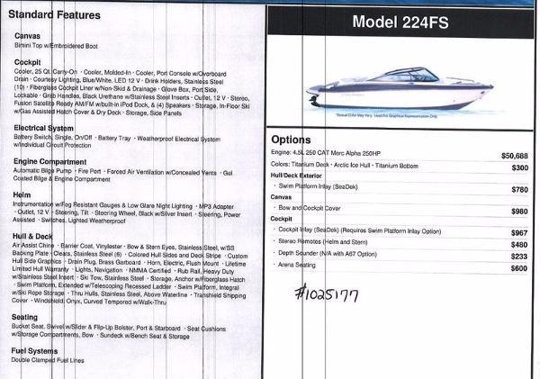 Monterey 224FS