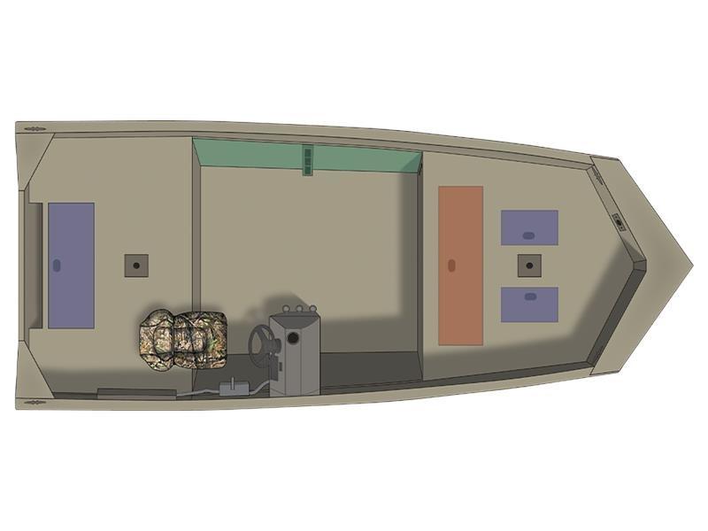 Crestliner 1650 Retriever SC