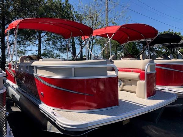 Tahoe Pontoon 23 GT REAR FISH