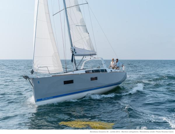 Beneteau Oceanis 38 2014 Beneteau Oceanis 38 - Manufacturer Supplied Image