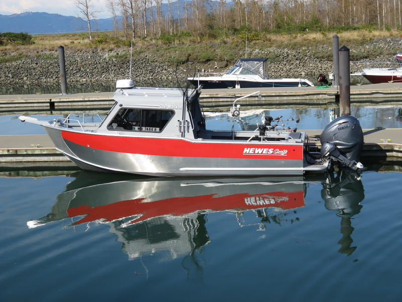 Hewescraft Alaskan 250 ET HT RLC
