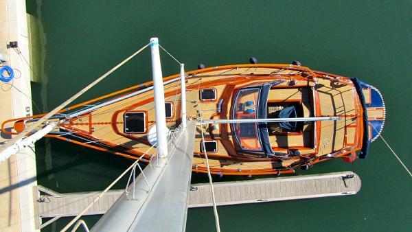 Puma 37 renewed 2013 view from mast top