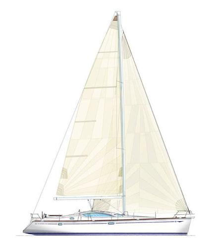 Jeanneau 49DS sail Plan