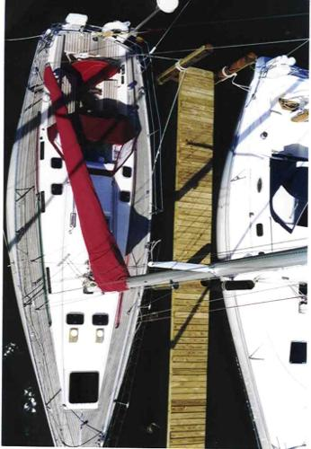 Looking Down From The Mast