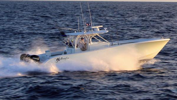 Yellowfin Sport Fishing Underway