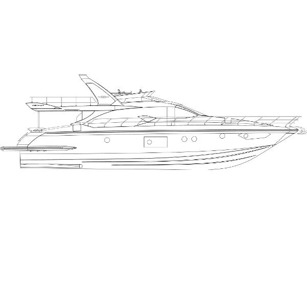 Azimut 66 Flybridge Azimut Yachts France 66F Profile