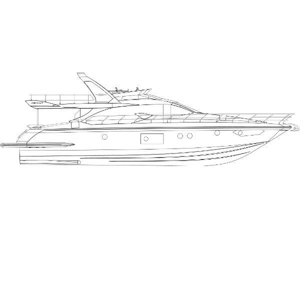 Azimut 66 Flybridge Azimut Yachts France 66F Profile