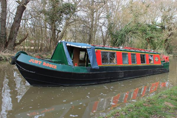 Narrowboat 42' Harborough Cruiser Stern