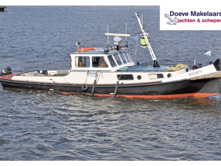 Akerboom pusher / tug boat 15.26