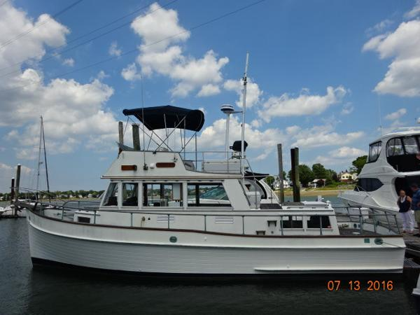 Grand Banks 36 Classic 36' Grand Banks port profile