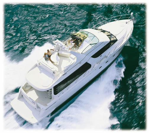 Carver 570 Voyager Pilothouse Manufacturer Provided Image