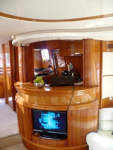 bar/semi-open galley