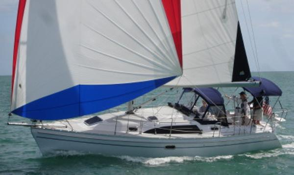 Catalina 315 On Order Under sail