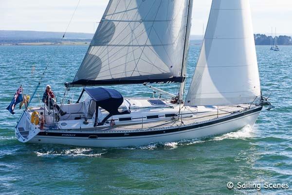 Elan 40 Elan 40 sailing