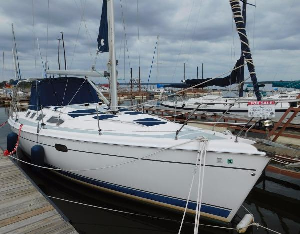 Hunter 386 Stb. Bow