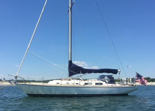 Pearson 39 updated On mooring