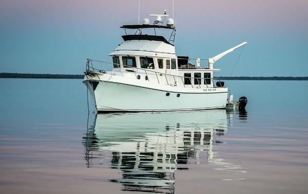 American Tug 485 At Anchor