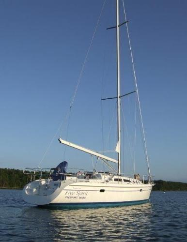 "Catalina 380 Tall Rig Catalina 380 ""Free Spirit"""