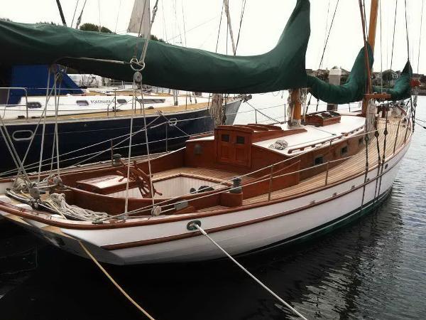 Sailboat Malabar II Schooner