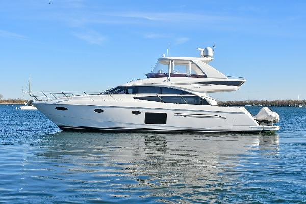 Princess 60 Flybridge Port Side