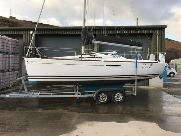 Beneteau First 21.7 S On Trailer