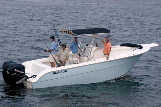 Sea Fox 287 Center Console Manufacturer Provided Image