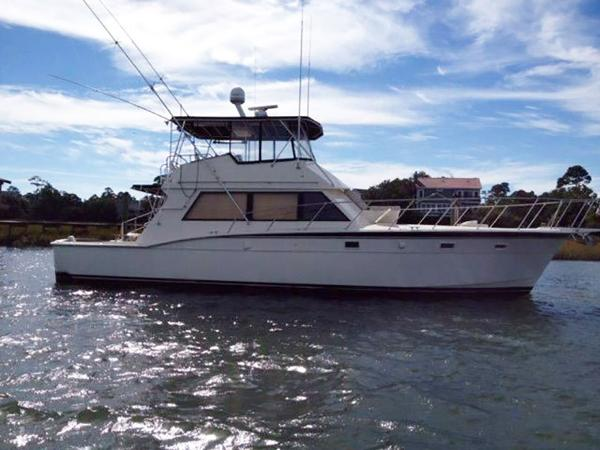 Hatteras 52 Convertible Profile