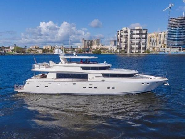 Johnson Flybridge w/ Euro Transom 4 MAL