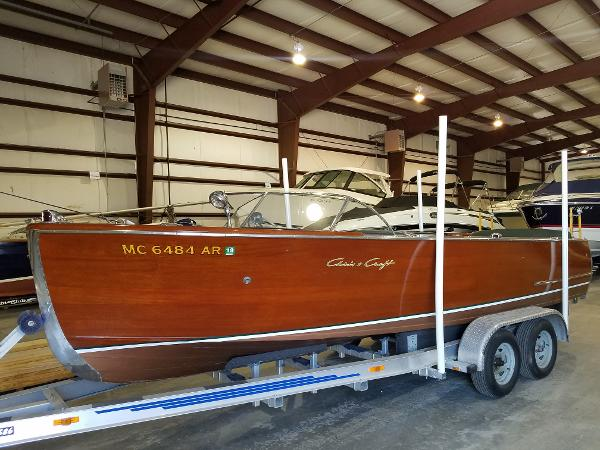 Chris-Craft 22' Utility Boat & trailer