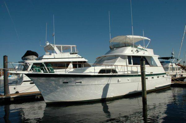 Hatteras 53 Yacht Fisherman 53 Hatteras