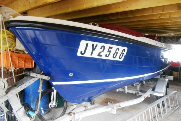 Orkney Boats Vanguard 170 Hull Bow