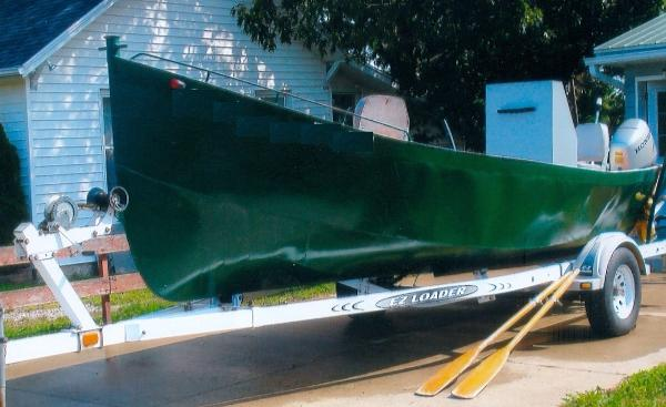 "1996 22'8"" x 6'6"" Steel Workboat"