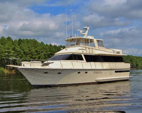 Viking Motor Yacht NAUGHTY NAUTI