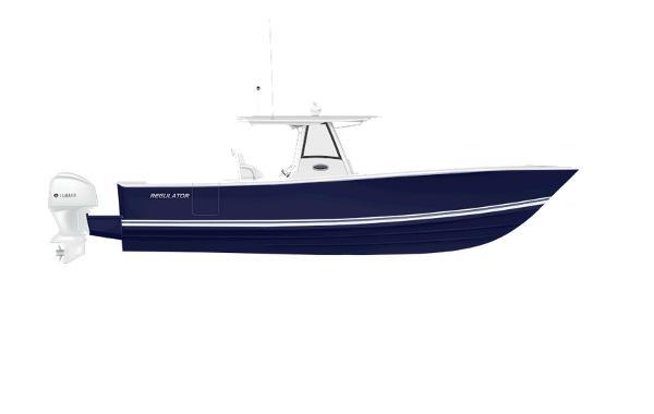 Regulator 34 2020 34 - FLAG BLUE with White.Charcoal.White Boot Stripe