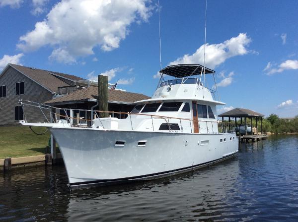 Hatteras 50 Yacht Fisherman Profile